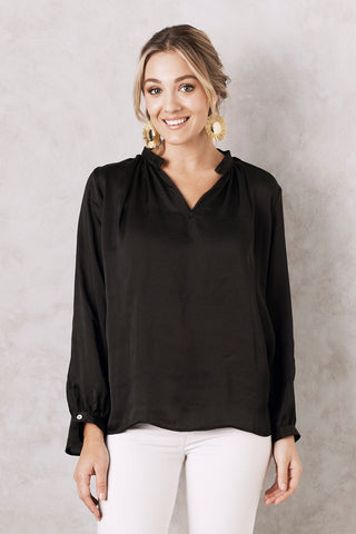 Palermo Top in Black