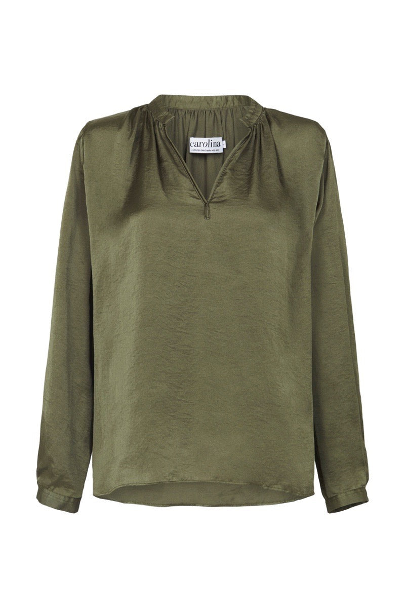 Palermo Long Sleeve Top Olive