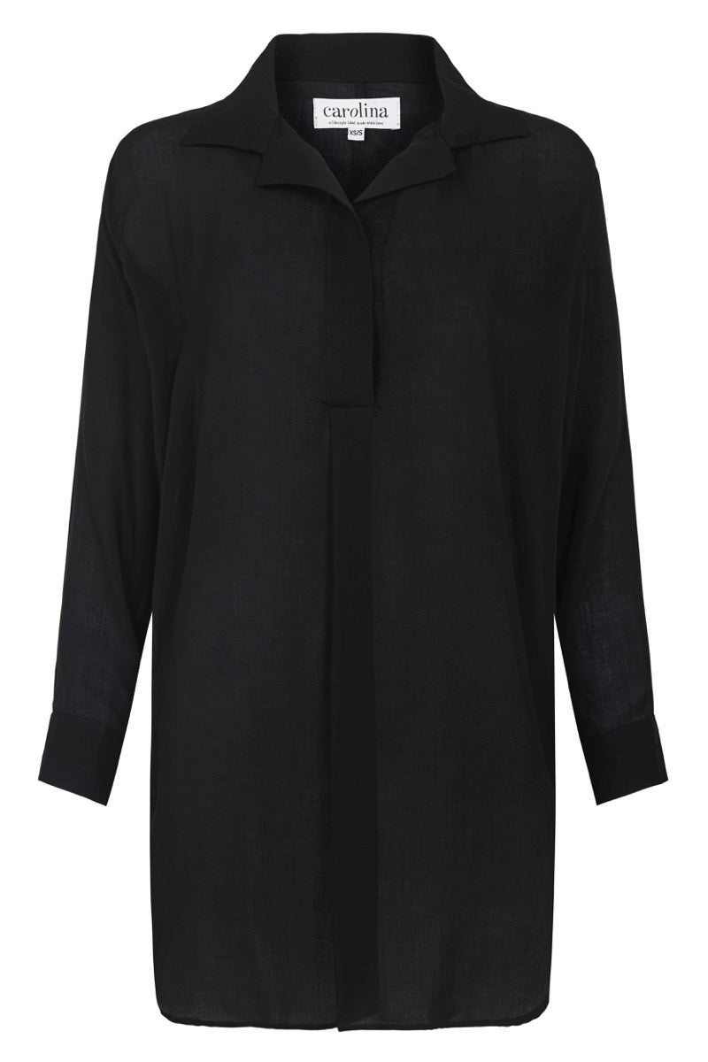 Monaco Dress Shirt Black