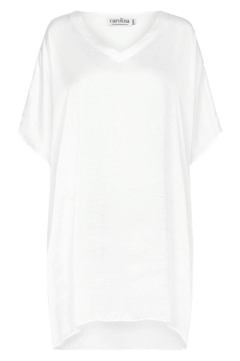 Nice Tunic White with V neck