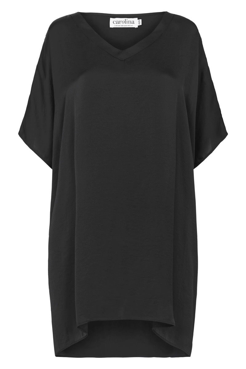 Nice Tunic Black with V Neck