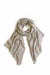 Cashmere and Wool Scarf Oatmeal