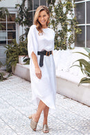 St. Tropez Dress White