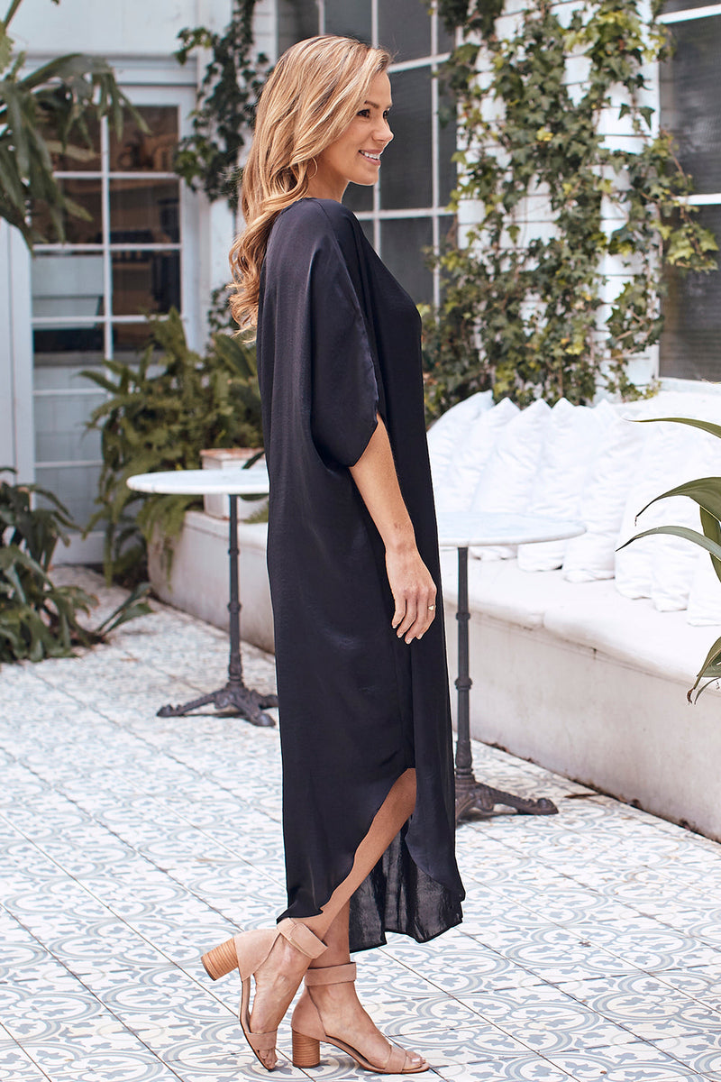 St. Tropez Dress Black