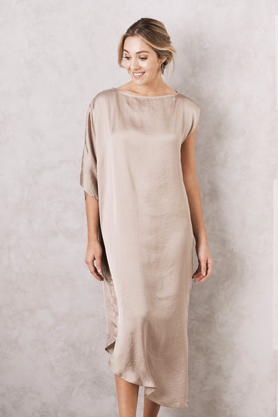 St. Tropez Dress Almond