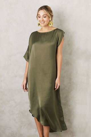 St. Tropez Dress in Olive