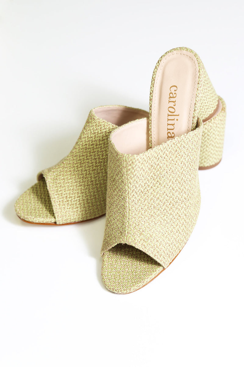 Tuscany Heels in Sage