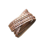 Lilly Wrap Bracelet Tan