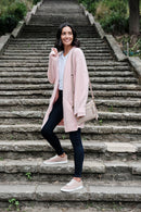 Adele Cardigan Blush