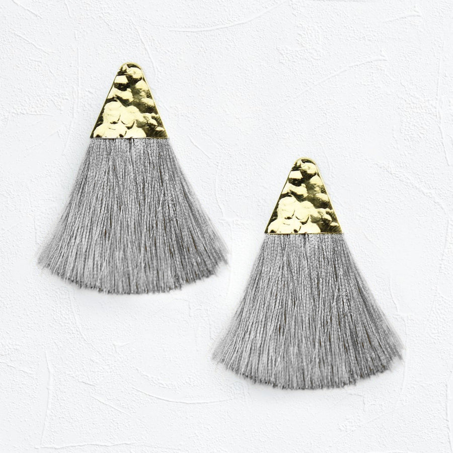 Alma Earrings Grey