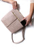 Barcelona Leather Handbag Nude SL-Pre-Order