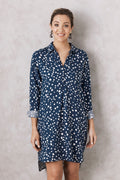 Linda Polka Dot Dress Shirt
