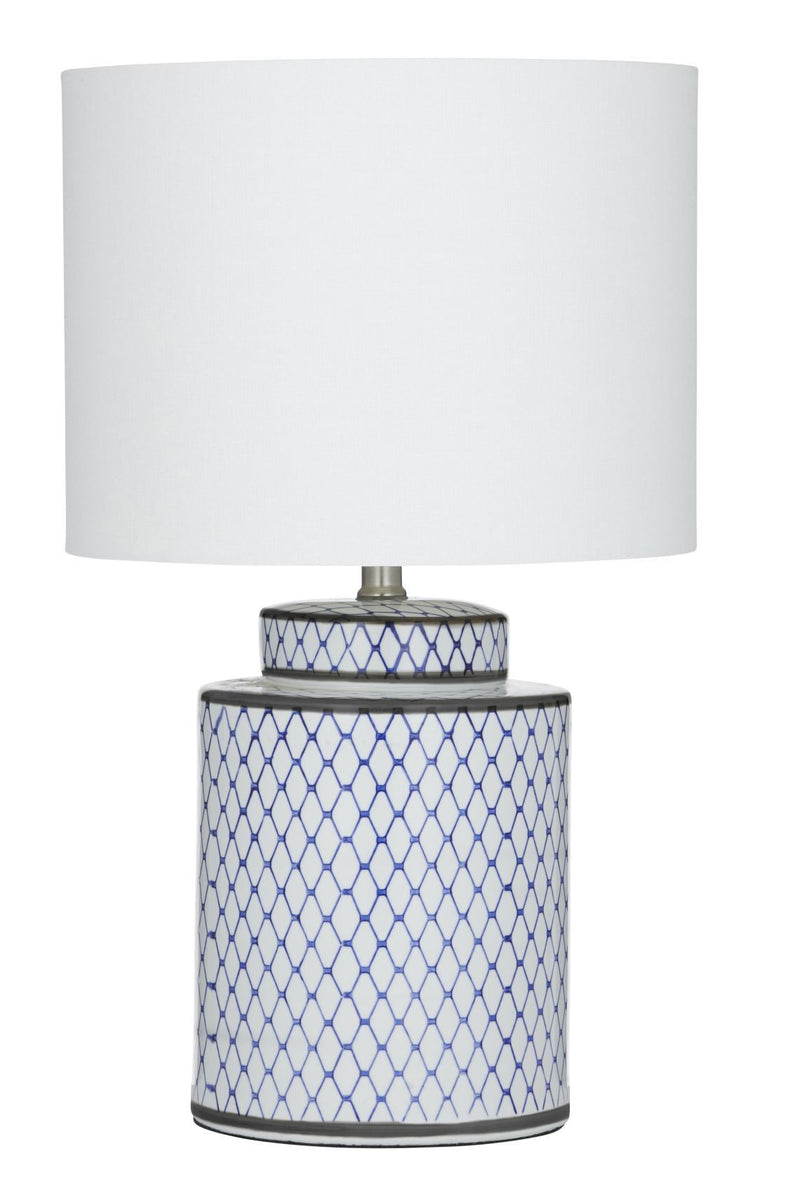 Leila Table Lamp 33x55cm Blue
