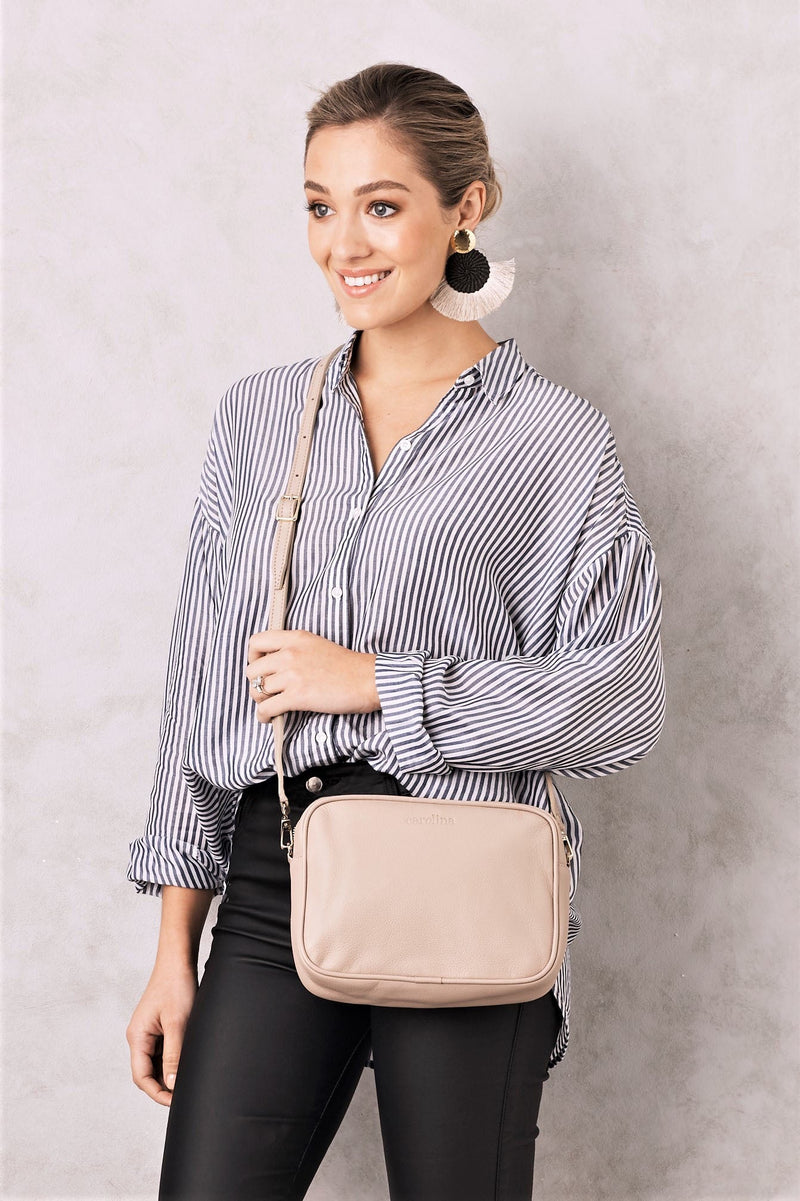Liana Leather Bag Nude