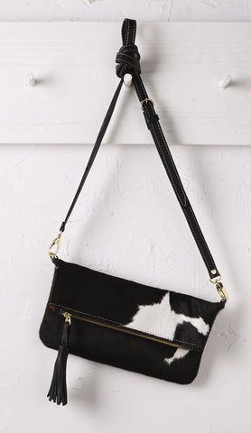 Carolina Clutch in Black and White