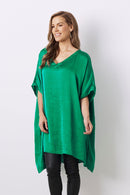 Nice Tunic Emerald with V neck