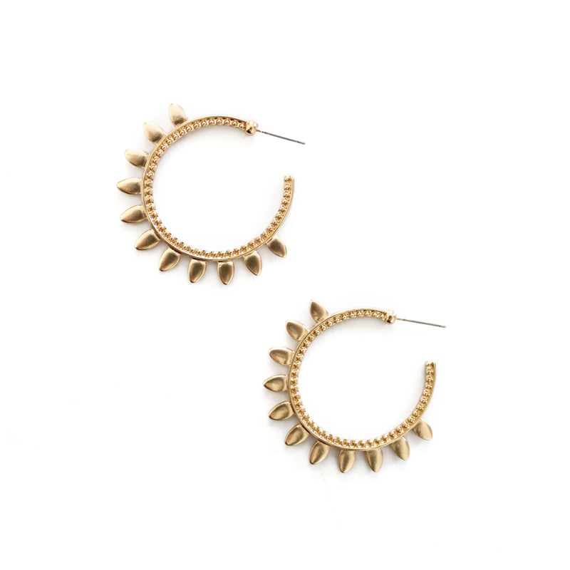 Artemis Hoop Earrings Gold
