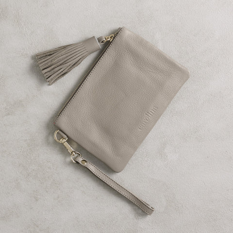 Mini Masai Mara Clutch in Grey