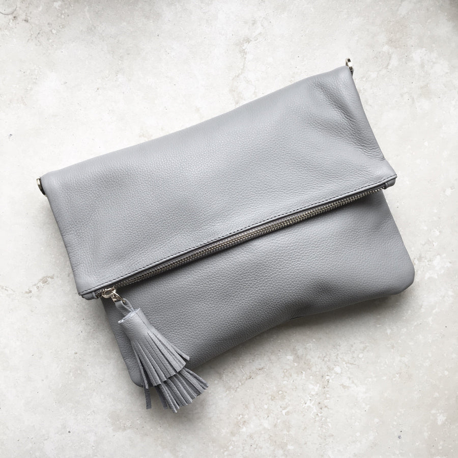 Oversized Clutch Grey SL