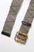 Long Island Bamboo Belt - Black & Natural