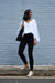 Sovana Long Sleeve Top White-Pre Order