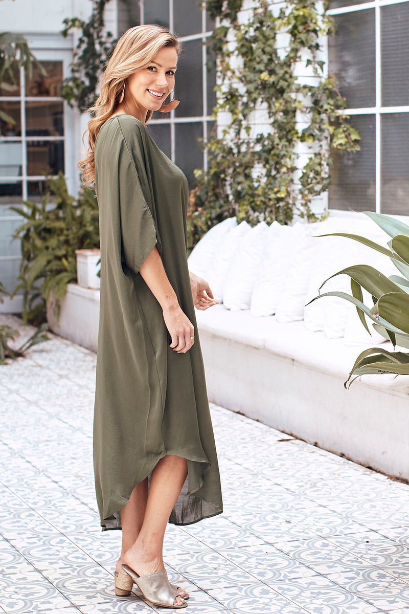 St. Tropez Dress Olive
