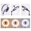 Pro LED Ring Light (36cm diameter) with flexible phone mount