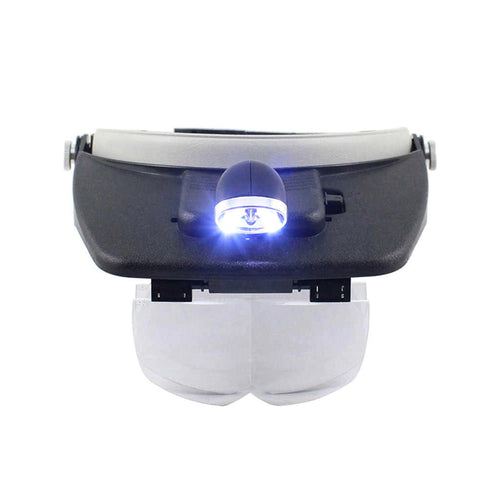 4 Lenses Magnifying Glasses with LED Light | Wholesale