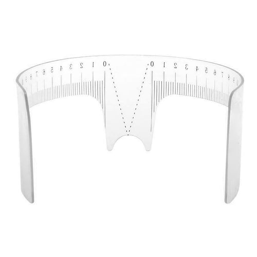 Reusable Brow Mapping Ruler w/ Nose Support | Wholesale
