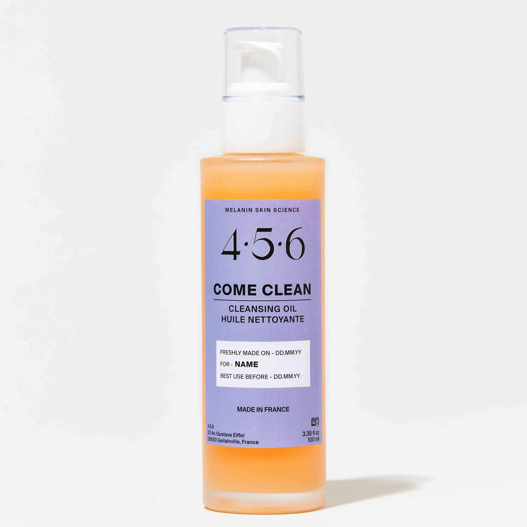 COME CLEAN - Cleansing Oil - 4.5.6 Skin