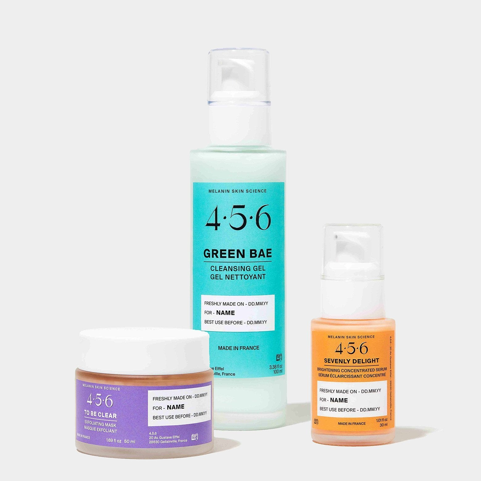The 3-Step Pigmentation Set - 4.5.6 Skin