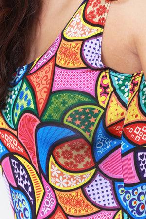 Colorful Hippie bodysuit