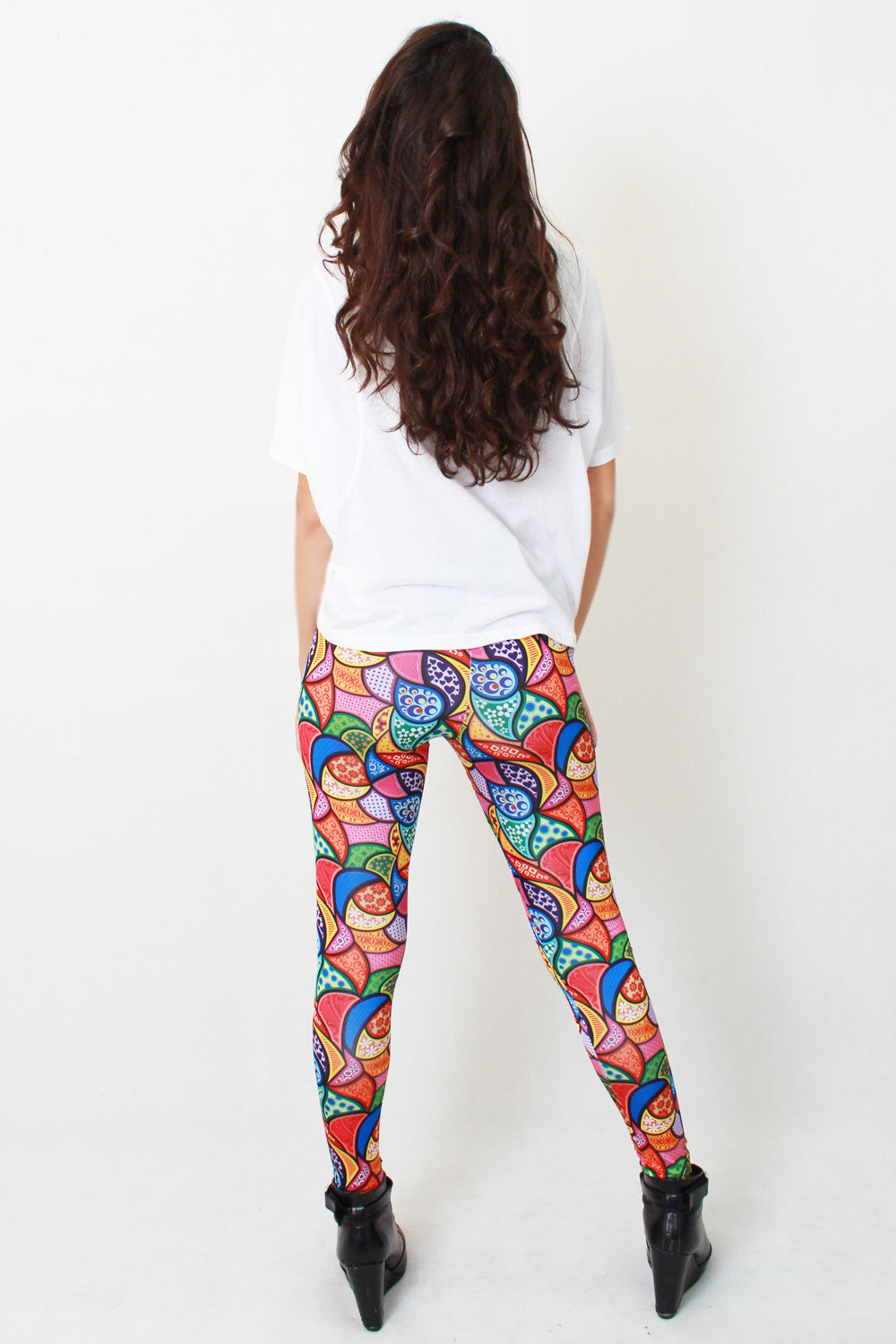 Colorful Hippie legging