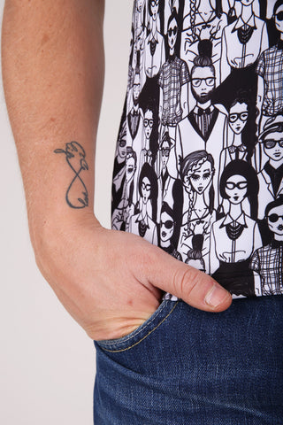 Hipsters t-shirt