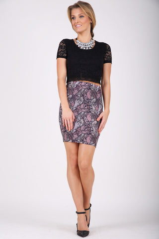 Lace it Right skirt