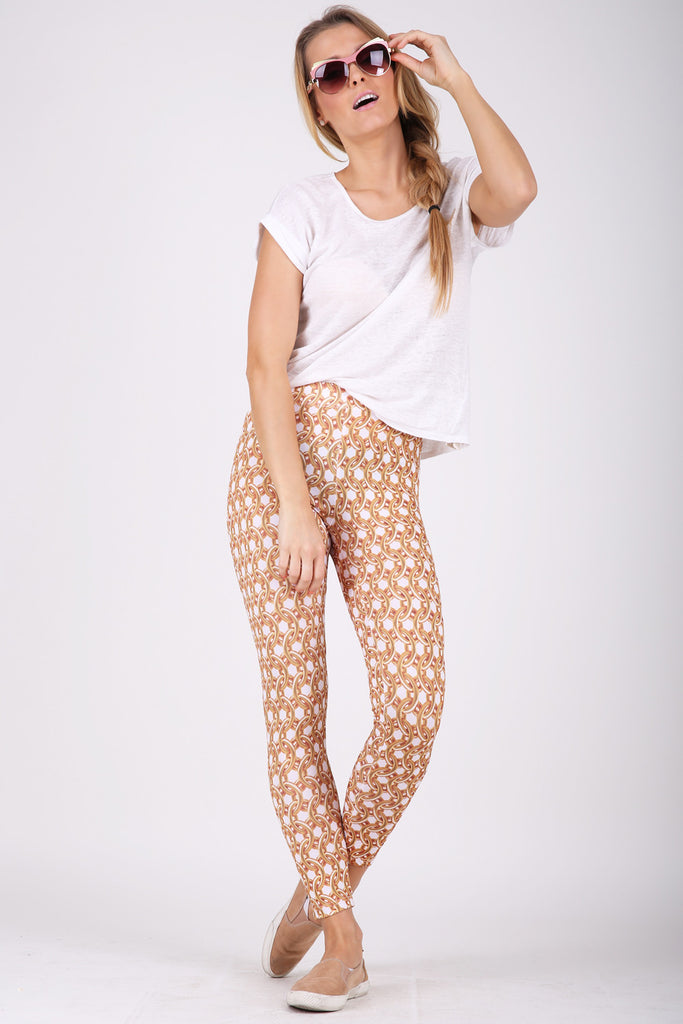 Gold Hoops legging