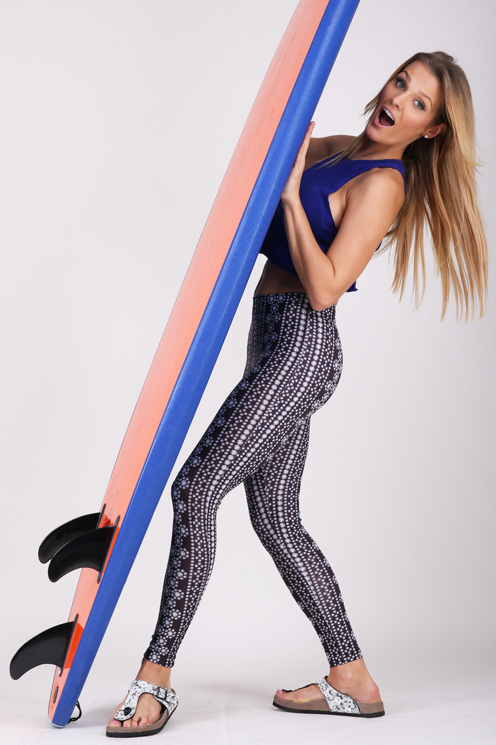 Diamond Stripe legging
