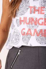The Hunger Games sleeveless shirt
