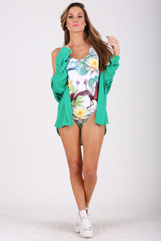 Lotus Lovers swimsuit