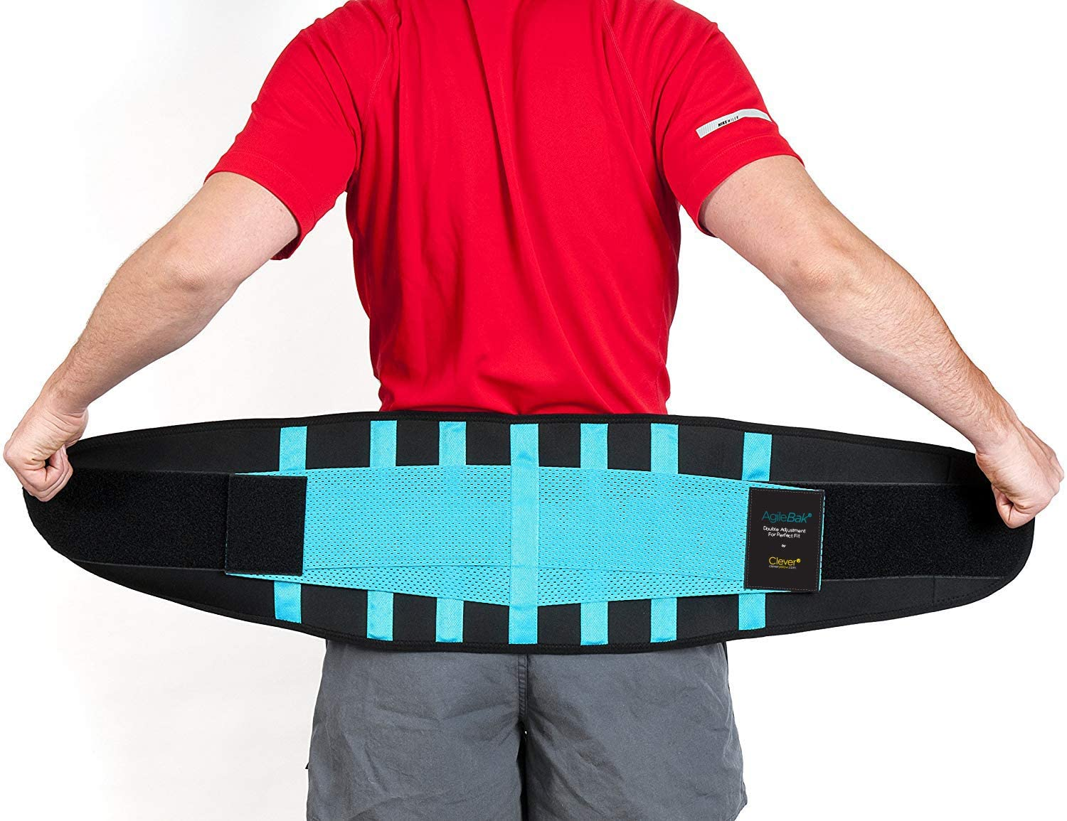 Clever Yellow Back Support Belt, Lower Back Brace