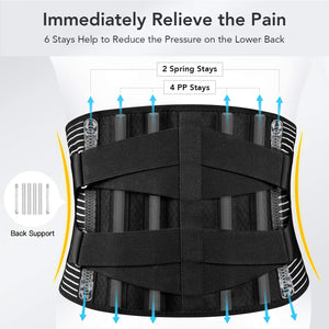 FREETOO Back Support Brace