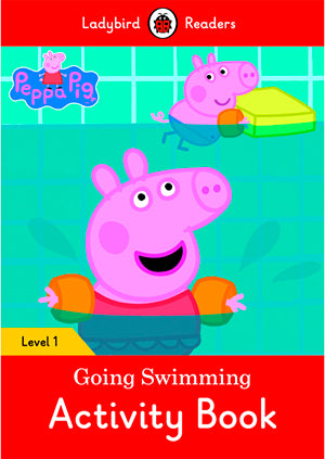 Peppa Pig: Going Swimming Activity Book (Lb)
