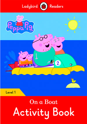Peppa Pig: On A Boat Activity Book (Lb)