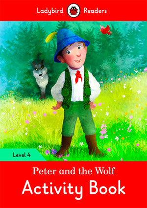 Peter And The Wolf Activity Book (Lb)
