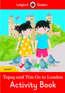 Topsy And Tim: Go To London Activity Book (Lb)