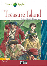 Treasure Island+Cd (Green Apple)
