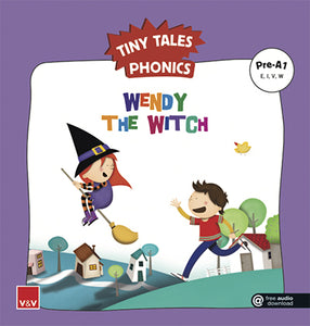 Wendy The Witch (Tiny Tales Phonics) Pre-A1