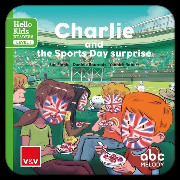 Charlie And The Sports Day...(Digital) Hello Kids