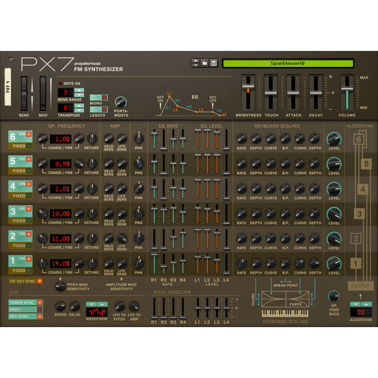 Propellerhead PX-7 FM Synthesizer