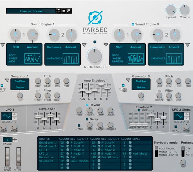 Propellerhead Parsec Spectral Synth